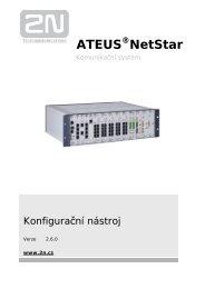 Uživatelský manuál konfiguračního nástroje - 2N Telekomunikace a.s.