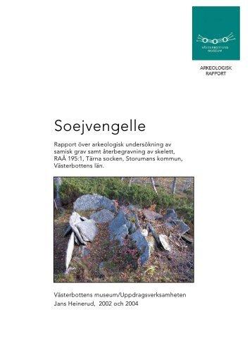 Soejvengelle - Spår från 10 000 år