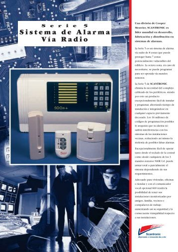 Sistema de Alarma Vía Radio - Cooper Security