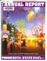 Minnesota State Fair Foundation Statements of Activities and ...