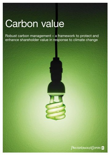 Robust carbon management - PwC
