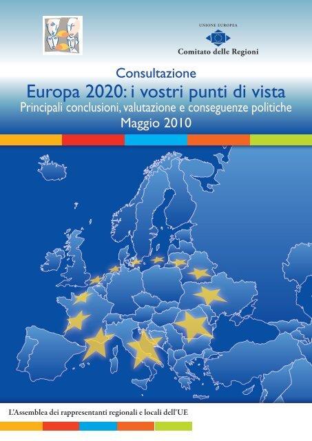 Europa 2020: i vostri punti di vista