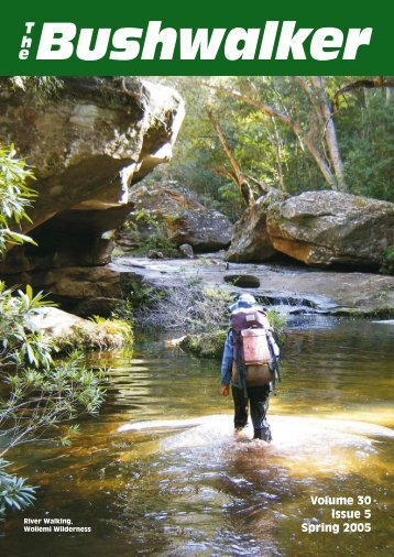 Volume 30 Issue 5 Spring 2005 - Confederation of Bushwalking Clubs