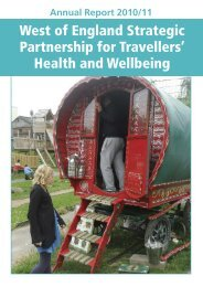 West of England Strategic Partnership for Travellers' Health and ...