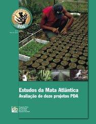 Estudos da Mata Atlântica - Ministério do Meio Ambiente