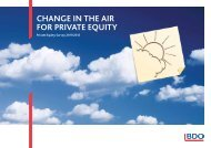 change in the air for private equity - Uk.com