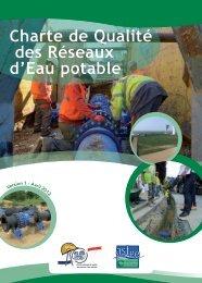 Charte de Qualité des Réseaux d'Eau potable - Syntec ingenierie