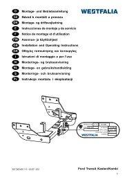 Ford Transit Kasten/Kombi D Montage- und Betriebsanleitung ...