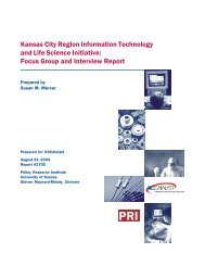 Focus Group and Interview Report - Institute for Policy & Social ...