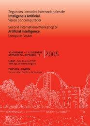 folleto 2005 - GIARA - Universidad Pública de Navarra