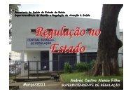 CENTRAL DE REGULAÇÃO NO ESTADO DA BAHIA.pdf - Sesab