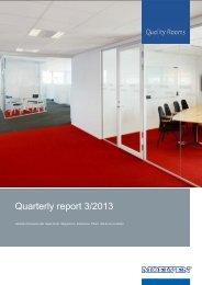 Quarterly report 3/2013 - Cision