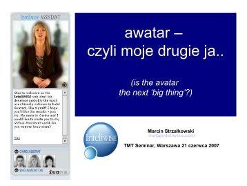 awatar – czyli moje drugie ja..