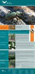 Jahresprogramm 2013 - Naturschutzverein Willisau