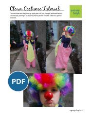 Clown Costume Tutorial - Sew Mama Sew
