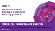 Intelligence, Integration and Expertise
