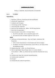 Ausschuß-Sitzung Eisen- und Hartwarenhandel - Tischler