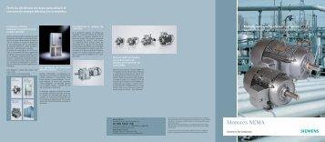 Motores NEMA Eficiencia Premium - Industria de Siemens