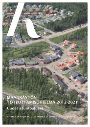 Maankäytön toteuttamisohjelma 2012-2021 - Hyvinkaan kaupunki