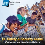 EF Safety & Security Guide - EF Educational Tours