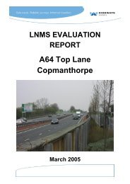 A64 / Top Lane Junction Improvement at ... - Highways Agency