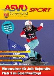 Ausgabe März 2012 - ASVÖ Burgenland