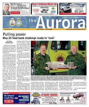 May 13 2013 - The Aurora Newspaper