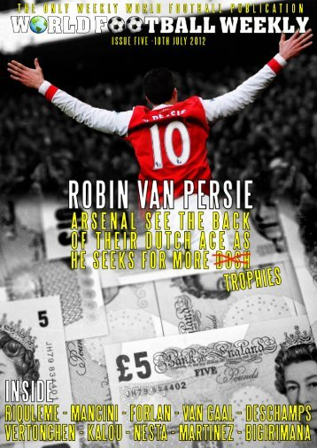 Issue Five – 10th July 2012 - WORLD FOOTBALL WEEKLY