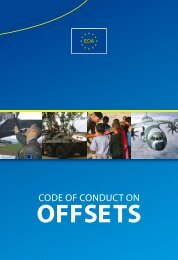 Brochure Offsets - European Defence Agency - Europa