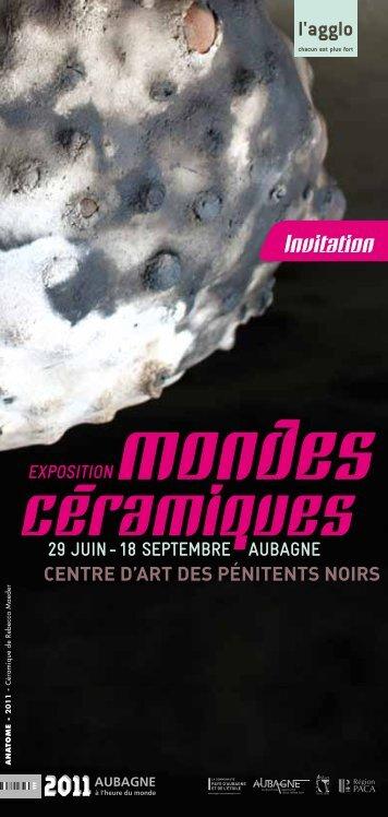 Mondes Ceramiques INVIT.pdf - Cocteau Art