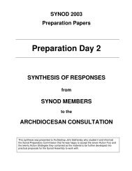 Document - Archdiocese of Brisbane