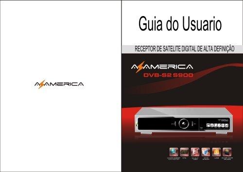 receptor de satelite digital de alta definição - AZ America