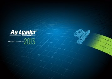 PRODUCTCATALOGUS - Ag Leader Technology