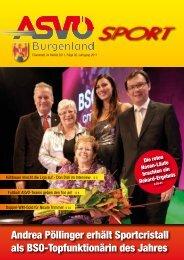 Ausgabe Dezember 2011 - ASVÖ Burgenland