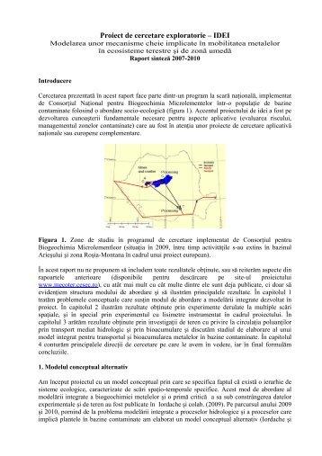 Proiect de cercetare exploratorie – IDEI - CESEC