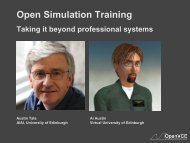 Open Simulation Training - University of Edinburgh