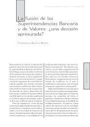fusión de las Superintendencias Bancaria y de Valores
