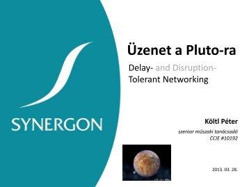 Üzenet a Pluto-ra