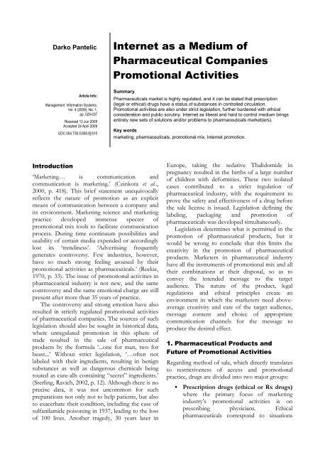 Download PDF - Ekonomski fakultet Subotica - Univerzitet u Novom ...