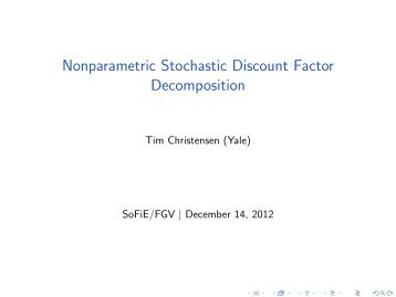 Nonparametric Stochastic Discount Factor Decomposition - EPGE/FGV