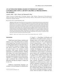 an automated model based synthesis of various controllers using ...