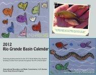 2012 Rio Grande Basin Calendar - US International Boundary ...