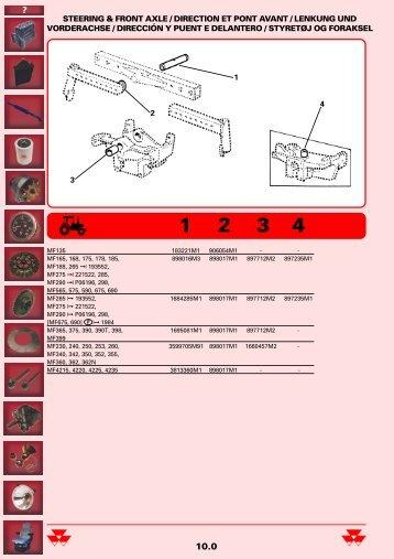 steering & front axle / direction et pont avant / lenkung und ...