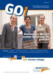 Go! September 2011 - Horizon College