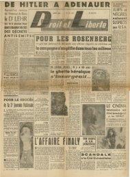 le Dr LEHR - Archives du MRAP