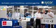 Ihre Produkte + unsere IT-Dienstleistung ... - Sycor GmbH