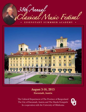 Classical Music Festival - University of Oklahoma