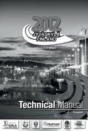 1 información general - WMA 2012 in Jyväskylä
