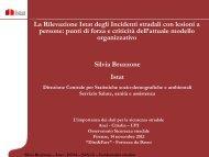 La rilevazione Istat degli Incidenti stradali con lesioni - Anci Toscana