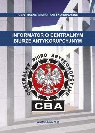 mnt A5.indd - Centralne Biuro Antykorupcyjne